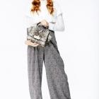 Модные женские брюки осень-зима 2014-2015: блеск и элегантность