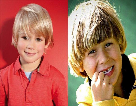 Причёски на средние волосы для мальчиков