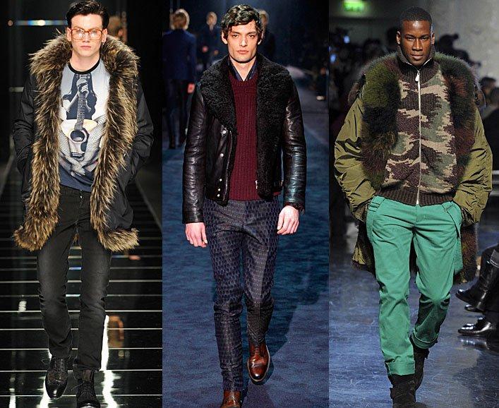 4f336d29e42c Модные мужские куртки 2013  фото из коллекций   Fchannel.ru