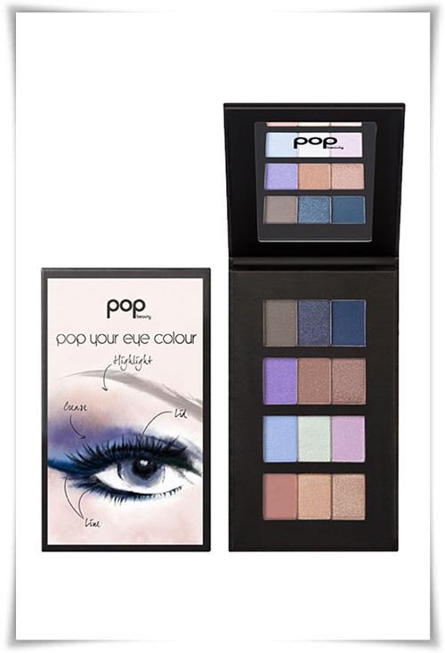 Схемы макияжа для голубых глаз