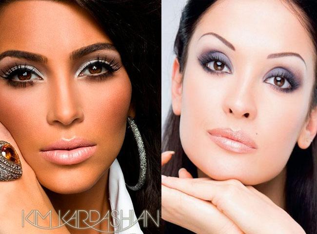 макияж для карих глаз 2013