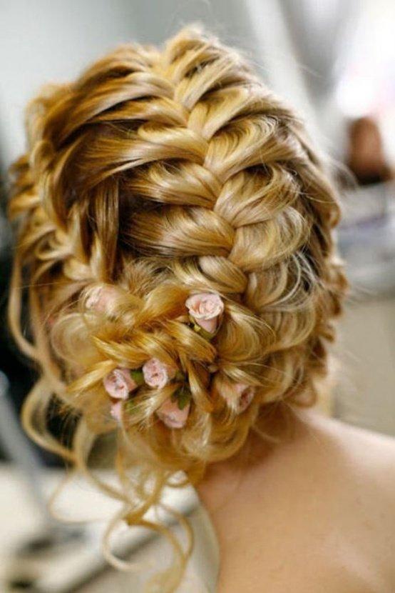 Греческие прически свадебные