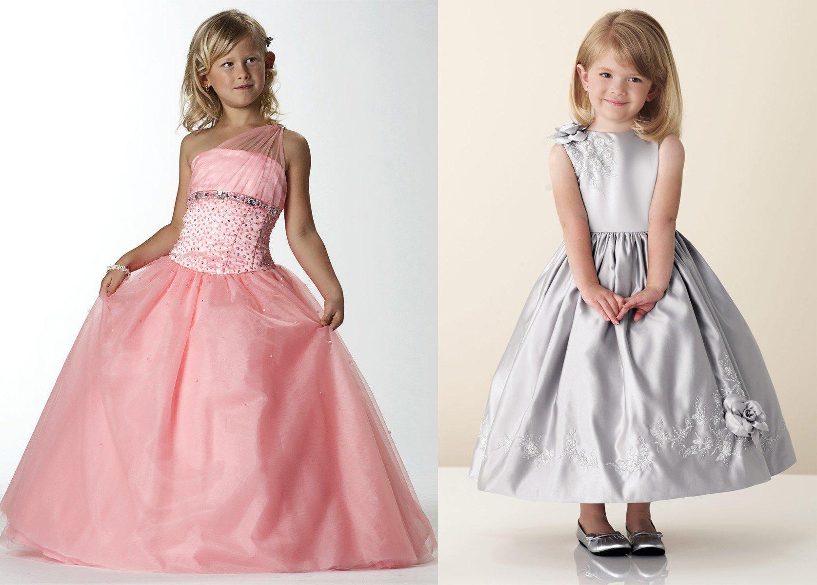 Самые красивые платья мира для детей