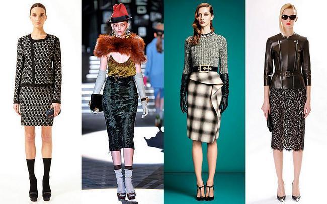 модные юбки осень-зима 2013