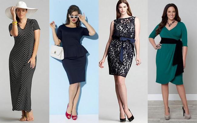 мода для полных женщин весна-лето 2013