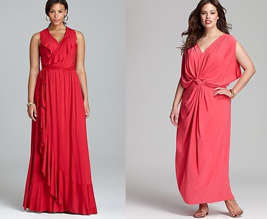 Мода для полных женщин весна лето 2013