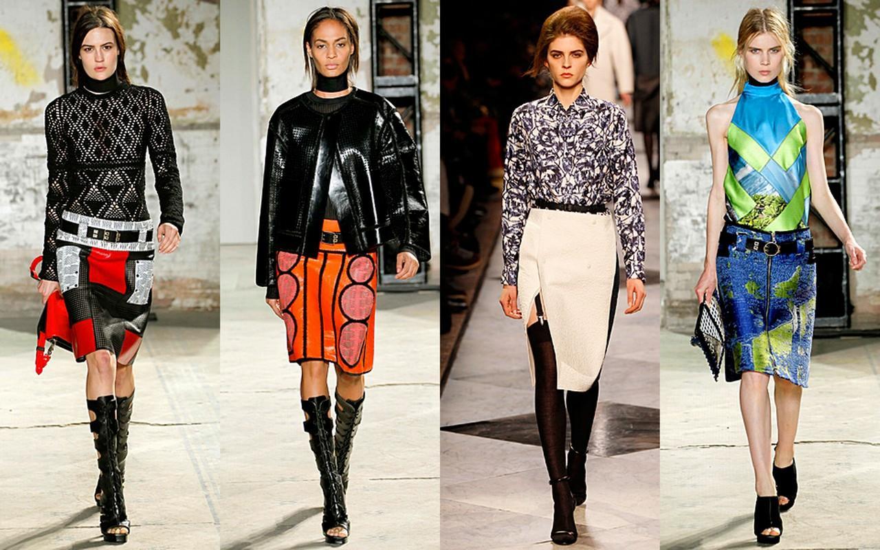 модные юбки 2013 года обзор: