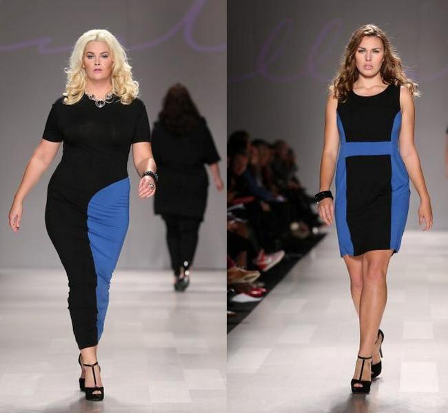 мода для полных женщин 2013