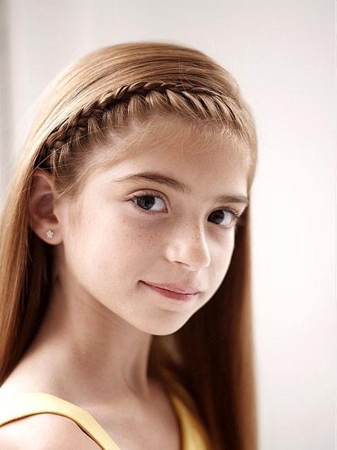 прически для девочек средние волосы