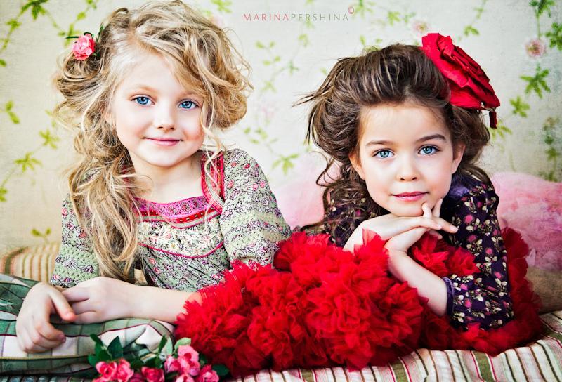 Прически детские на кудрявые волосы