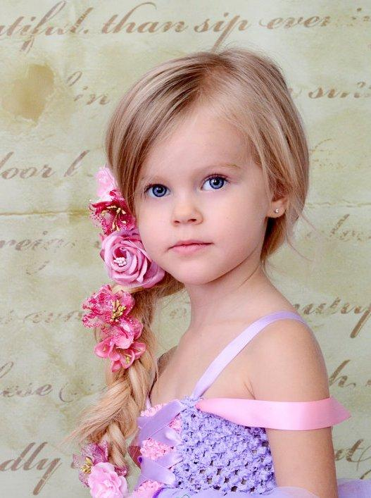 причёска для девочки для фото
