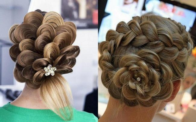 прически из кос на средние волосы