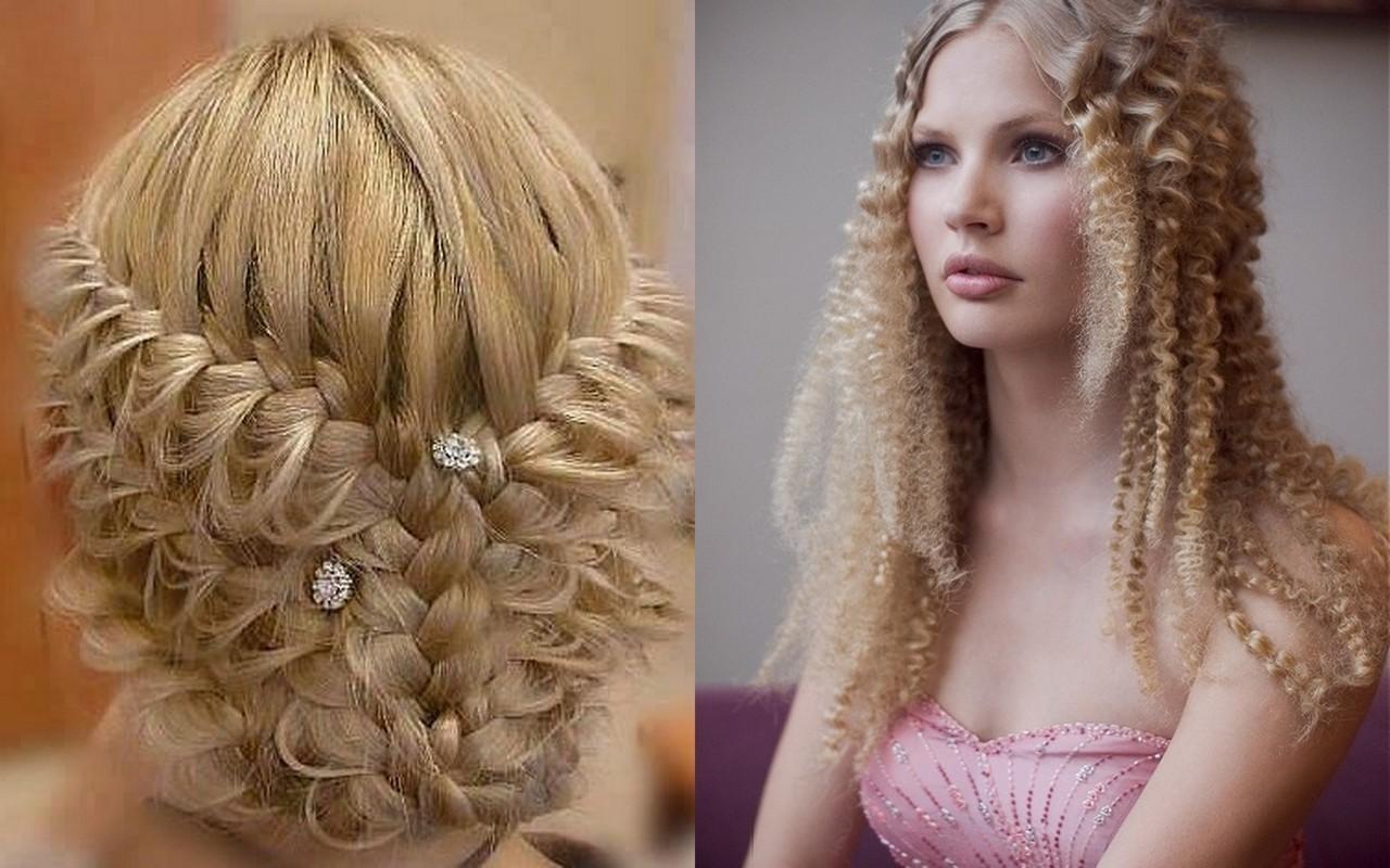 прически с косами на длинные волосы фото 2014 - МОДА.