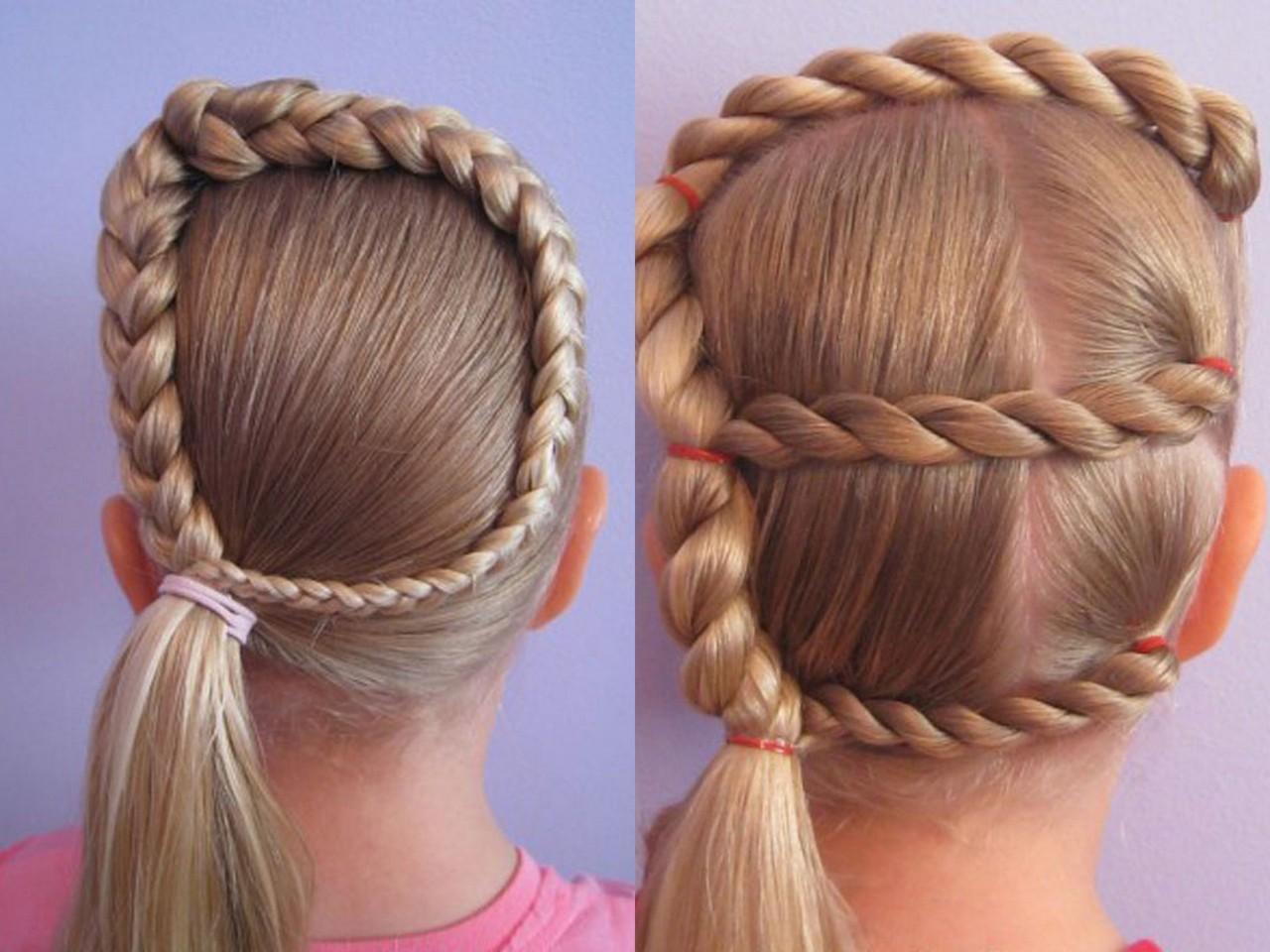 Детские косы и прически фото