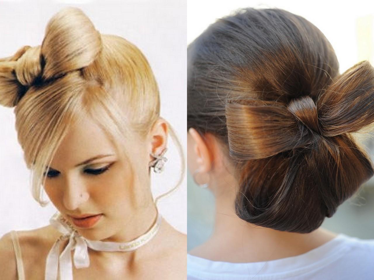 Как сделать бант из волос : подробная инструкция с фото 17
