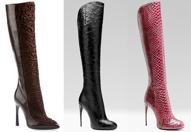 Женская осенняя обувь гуччи картинки