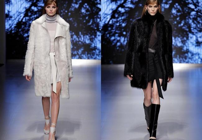 модные фасоны шуб зима 2014