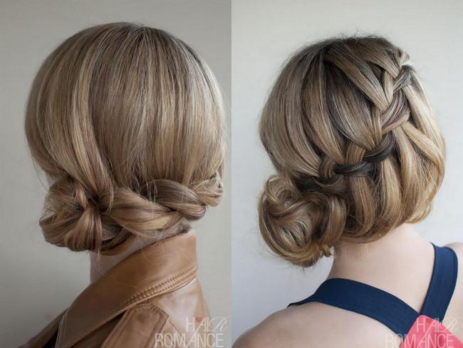 вечерние прически на длинные волосы