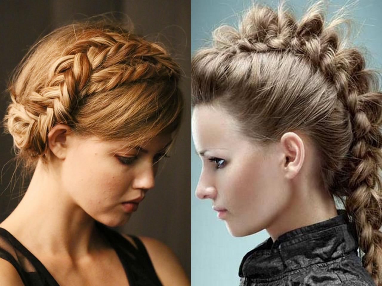 Женщины с прической коса фото