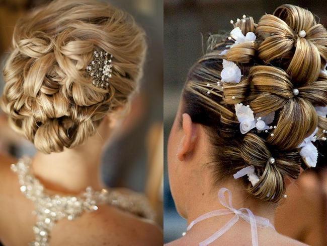 прически для для длинных волос на свадьбу