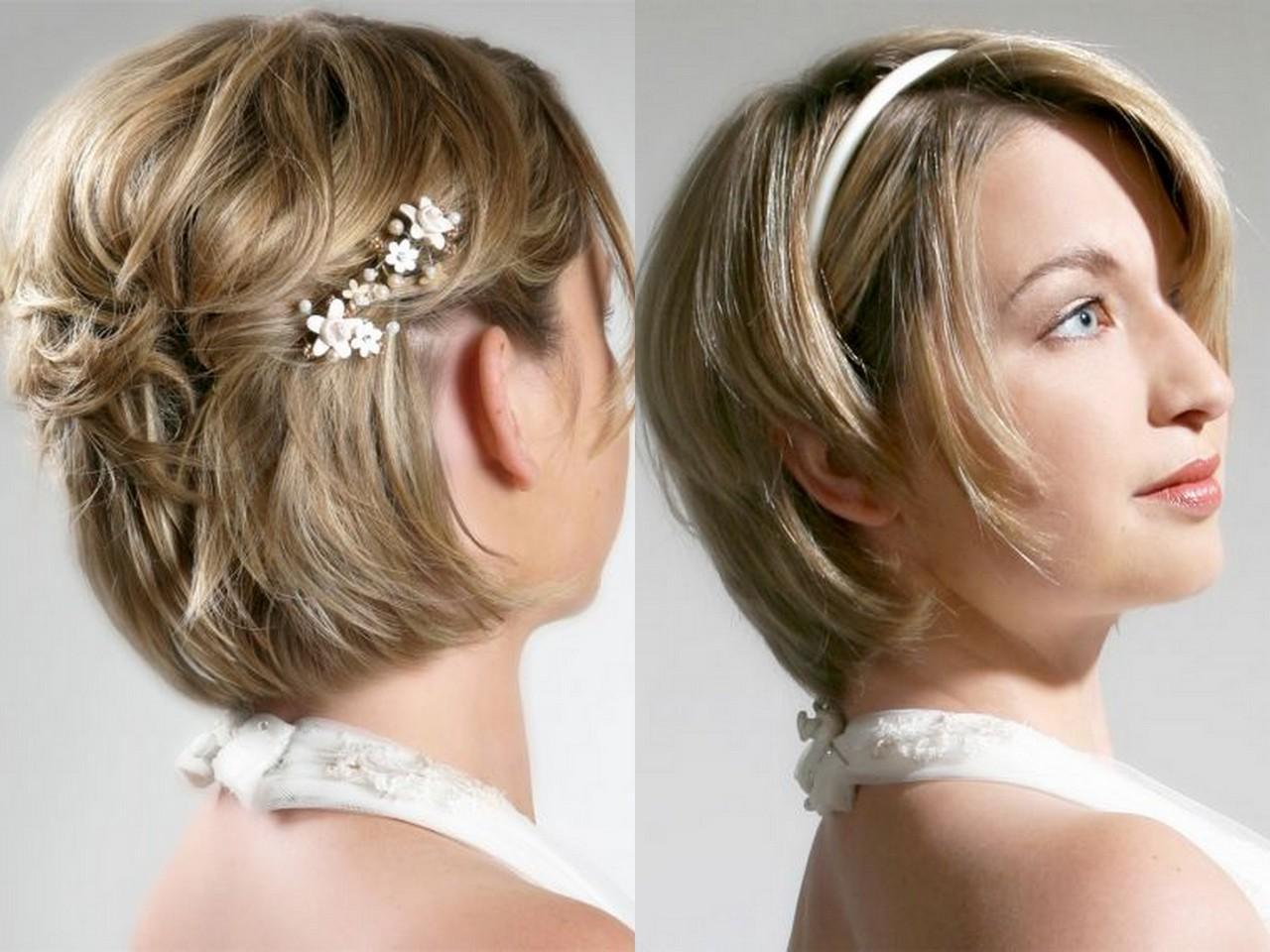 Праздничные прически на короткие волосы: 10 фото 91