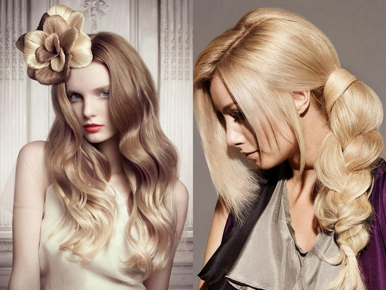 Прически из длинных волос фото