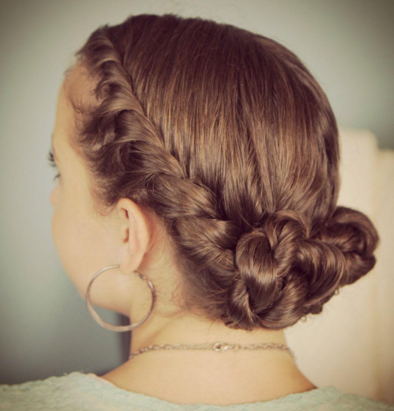 коса колосок плетение схема