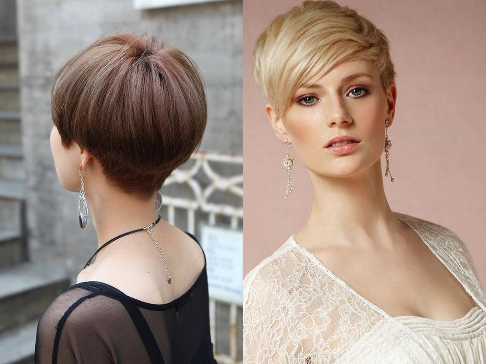 Красивые прически на короткие и тонкие волосы