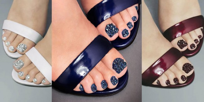 Nails Inc. Jewellery Pedicure Adds Sparkle To Every Step You Take