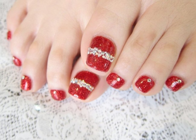 pedicure-Nail-Art-Design-at-Home