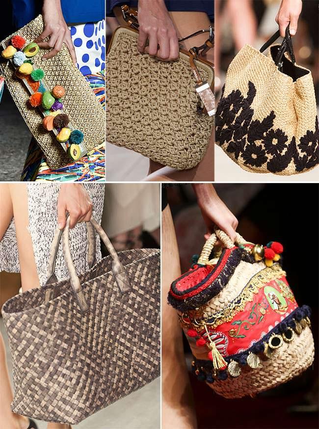 Модная летняя сумка