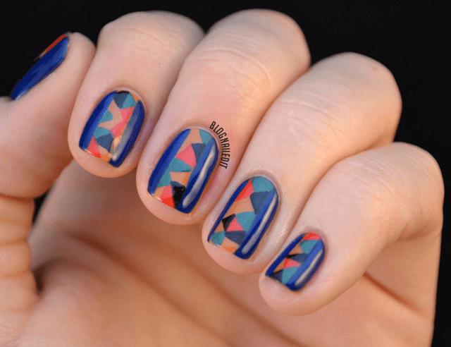 дизайн ногтей фото 2016 абстракция