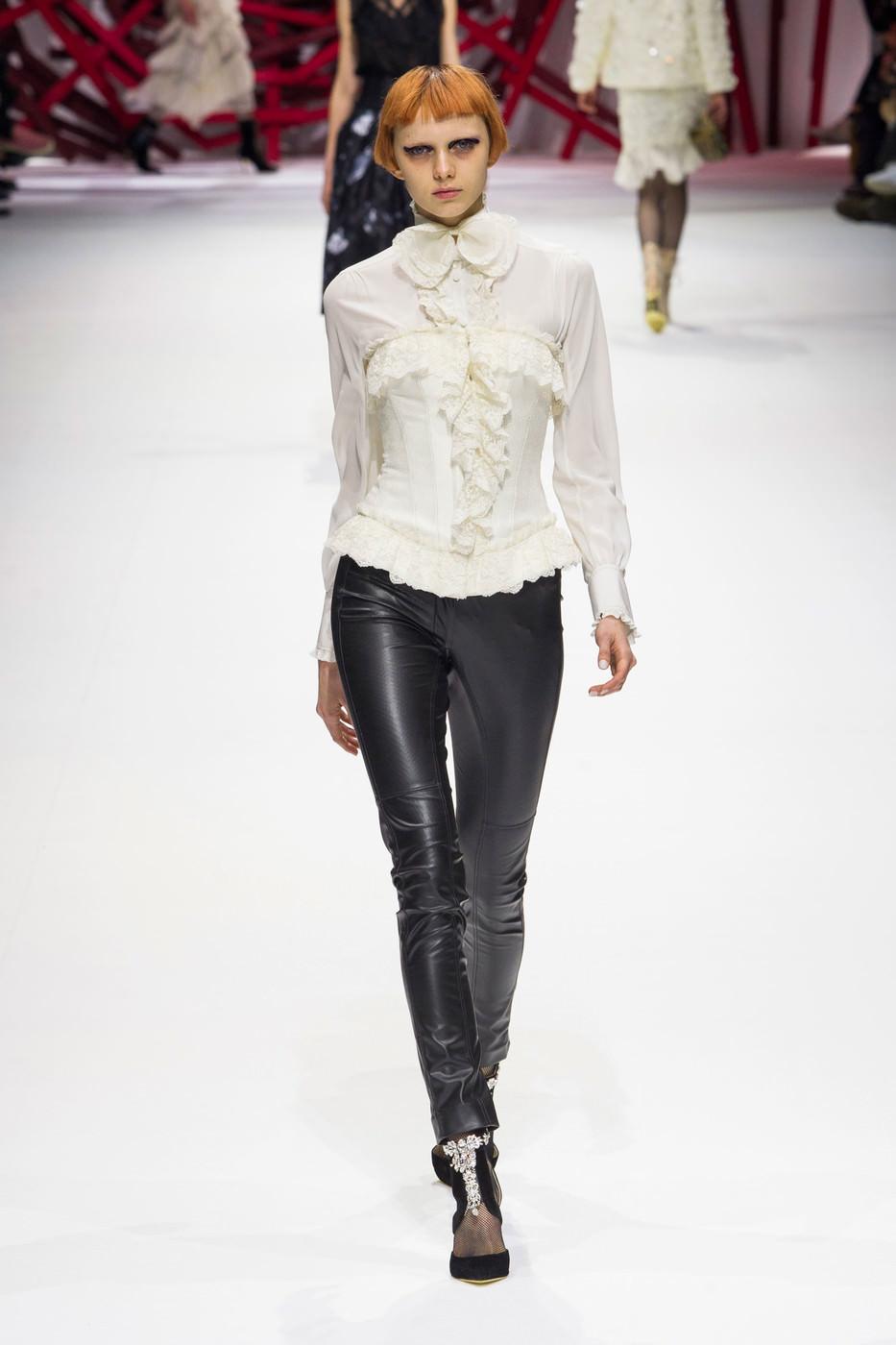 Белая Блузка Модная 2017